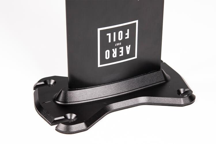 Track foil mount