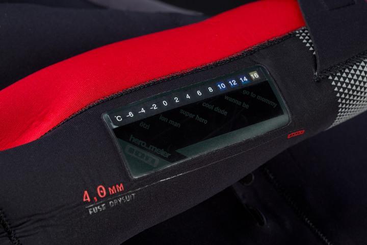 Fuse Drysuit Warmest Wetsuit 100 Waterproof Ion